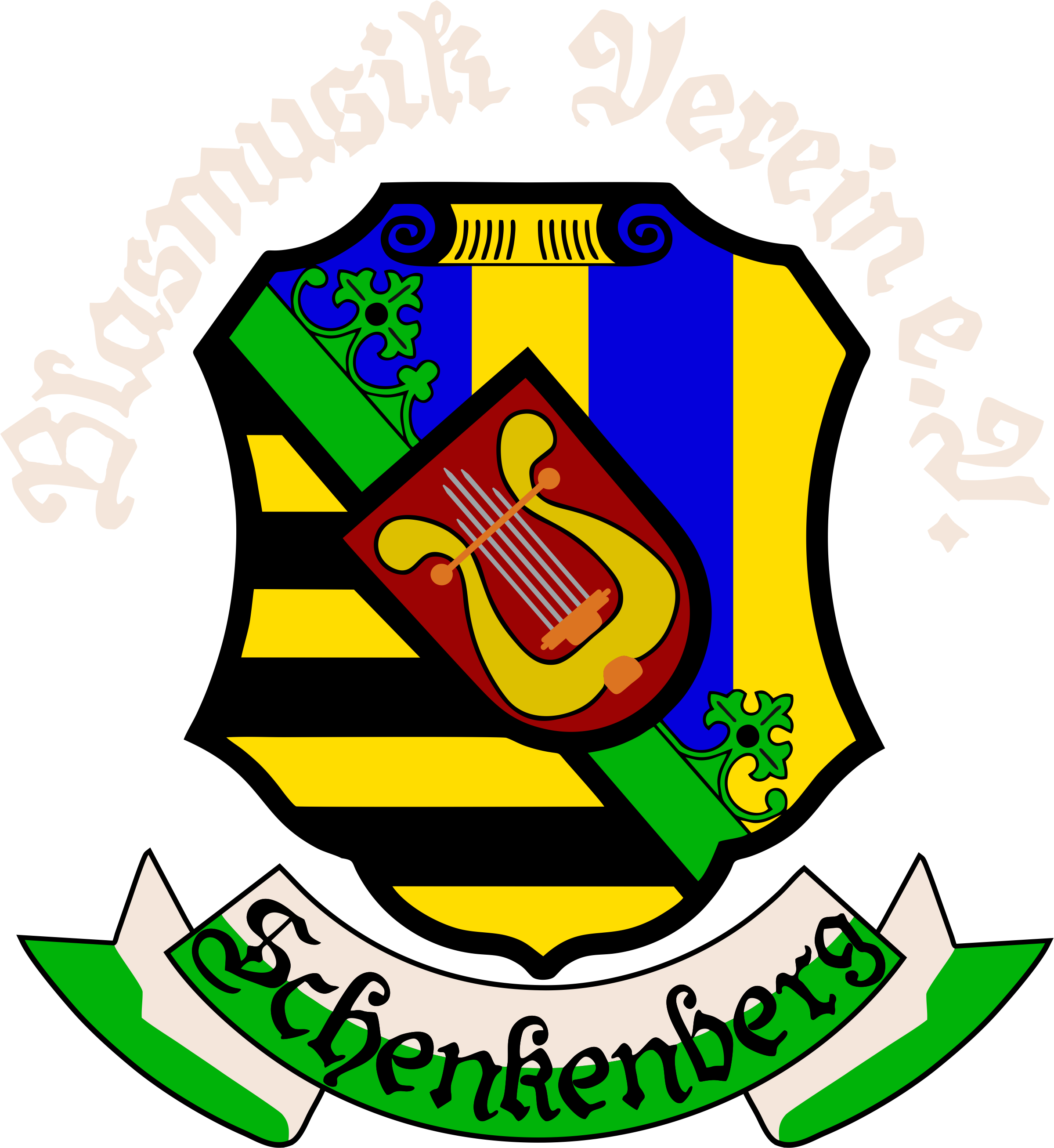 Blasmusikverein Schenkenberg e.V. - Logo