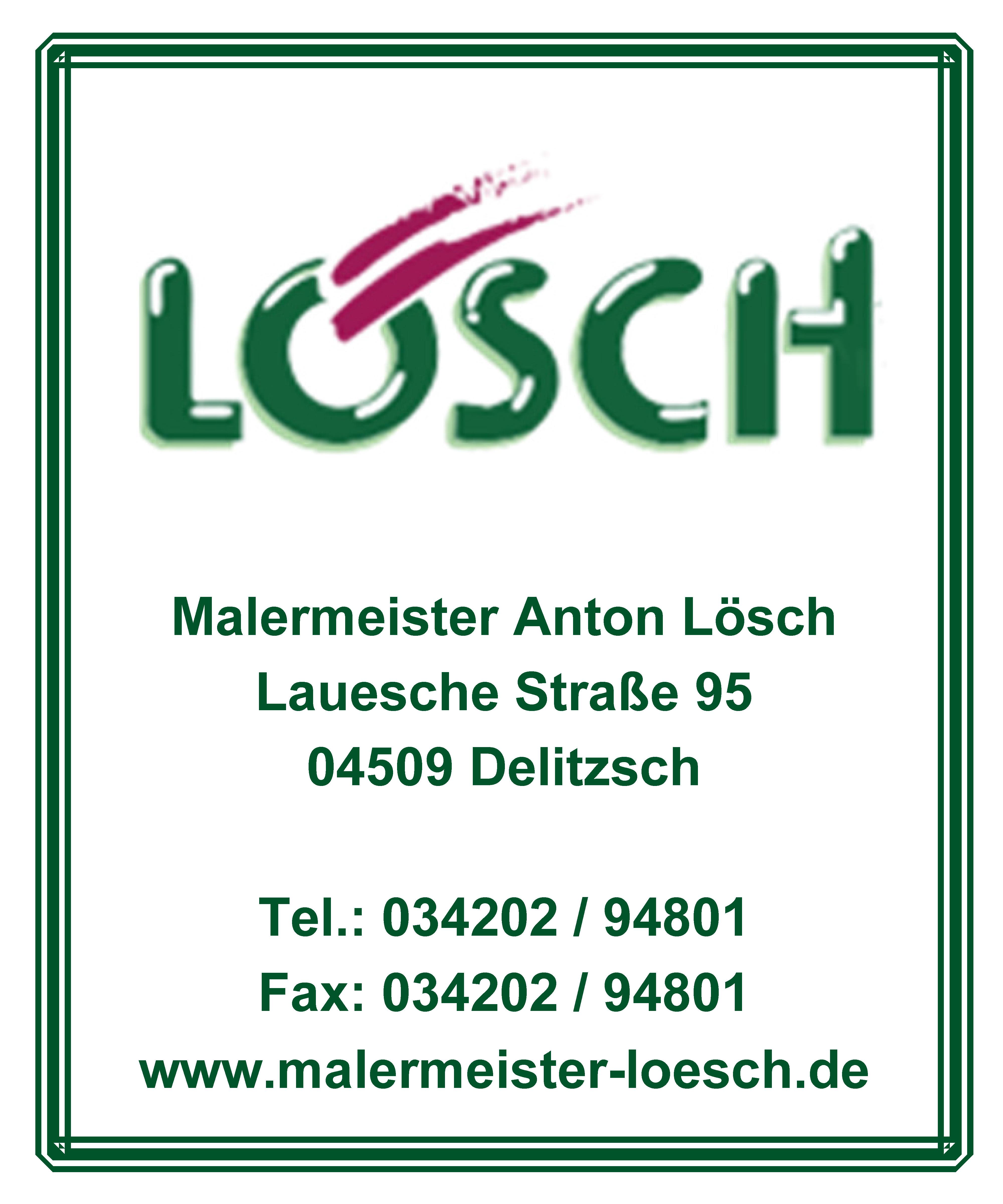 Malermeister Anton Lösch förderer des Blasmusikverein Schenkenberg e.V.