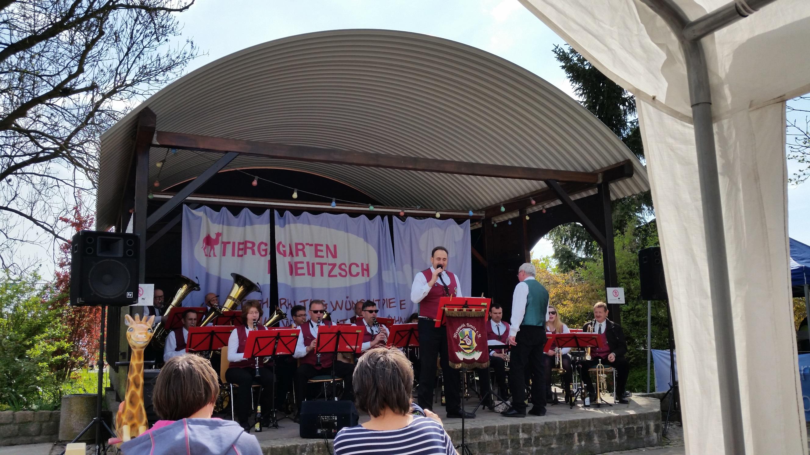 Tiergarten Delitzsch 2016 - Blasmusikverein Schenkenberg e.V.